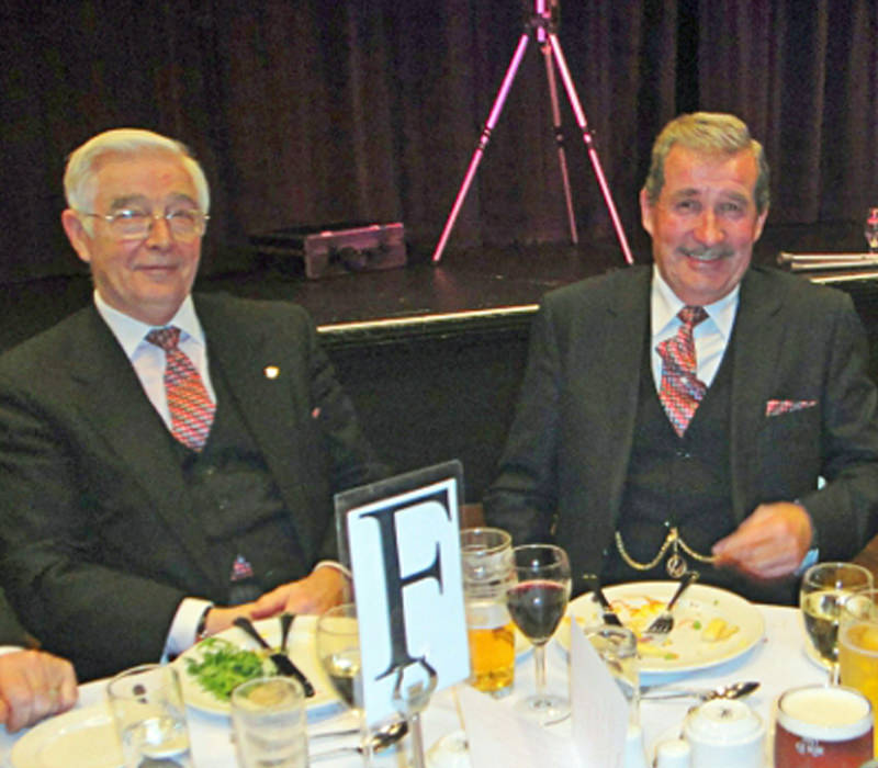 Royal Arch members dinning