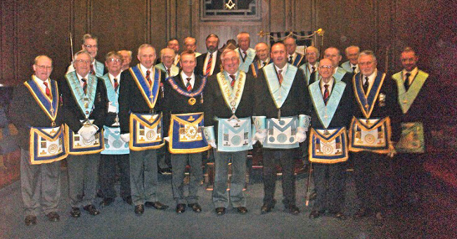 The 150th Anniversary of the Consecration of Borough Lodge – Celebration Meeting: