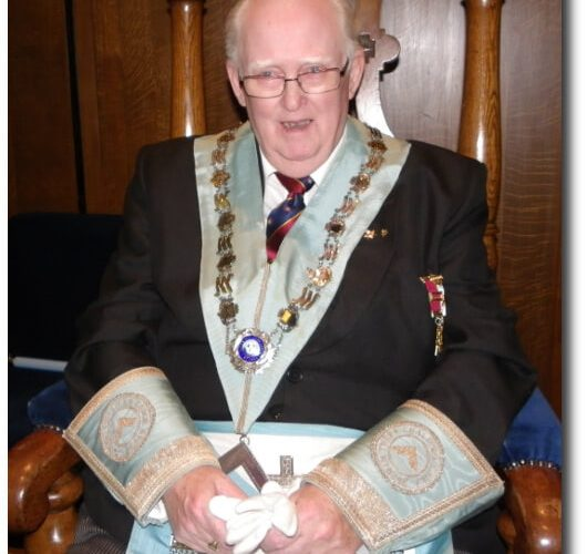 Installation of WBro James Whittaker PProvAGDC 3 Chalices Lodge 8249