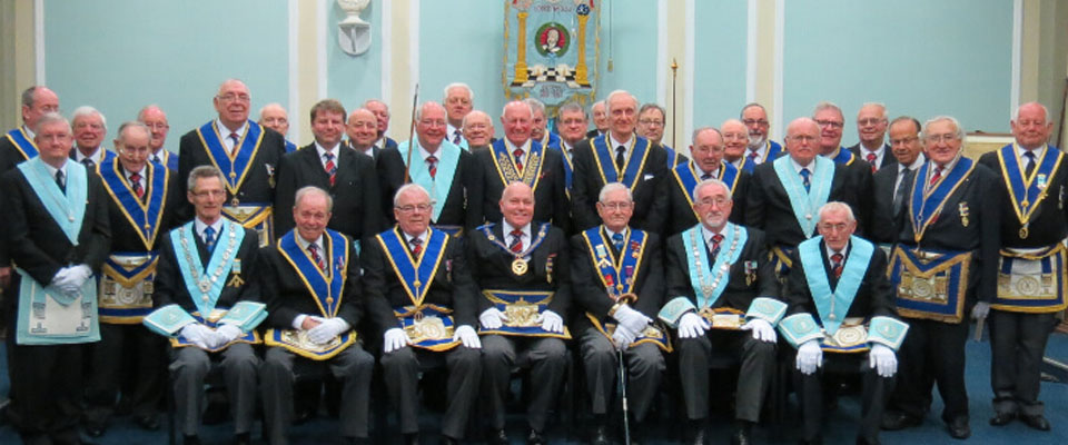 50 years in Masonry on the 20th April 2016, WBro Graham Ellis