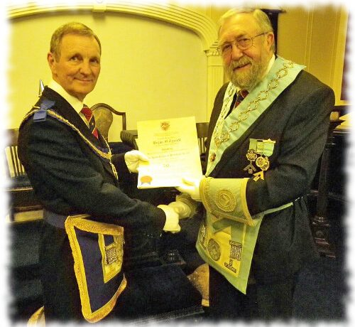 50th Anniversary Celebration of WBro Bryan O. Tyrrell PProvJGD