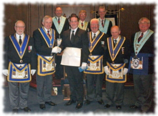 Borough and Ashlar Lodge No 4858 – an exceptional evening!