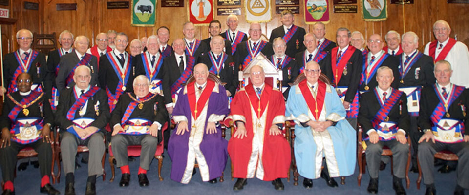 Bill Cavanagh: 50 Years in Royal Arch Freemasonry Unanimity Chapter No 4130 – 8th March 2016