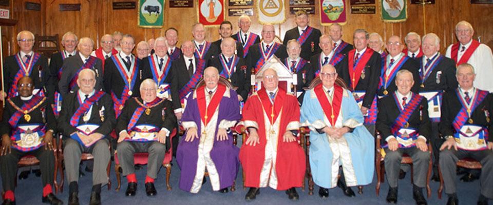 Bill Cavanagh: 50 Years in Royal Arch Freemasonry Unanimity Chapter No 4130 – 8th March 2016