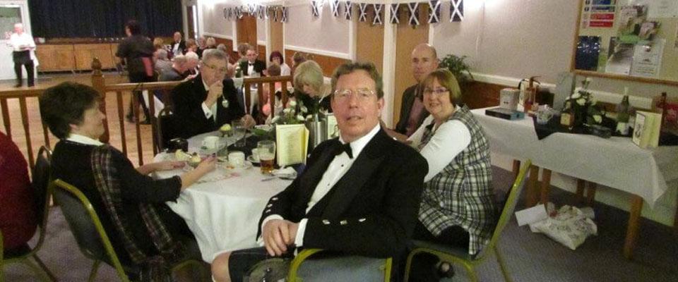 Burns Night at the Lodge of Faith No 344