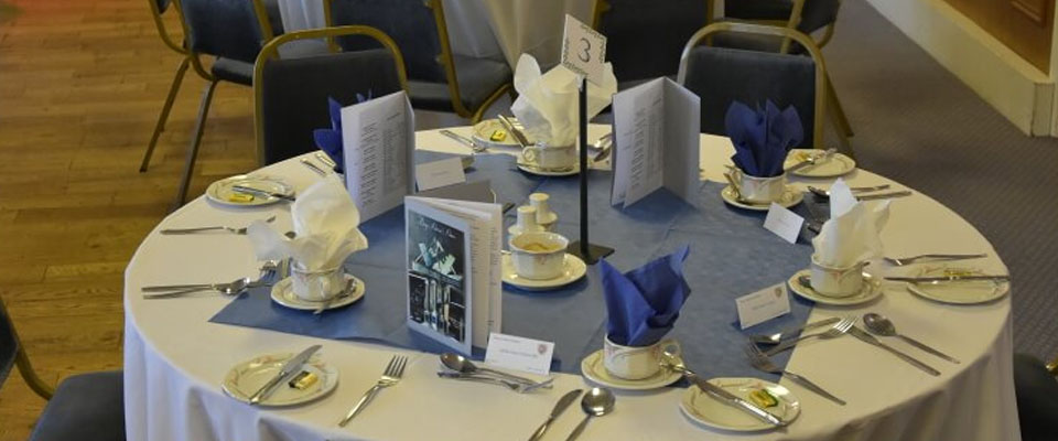 BURY DISTRICT ANNUAL DINNER - 2016