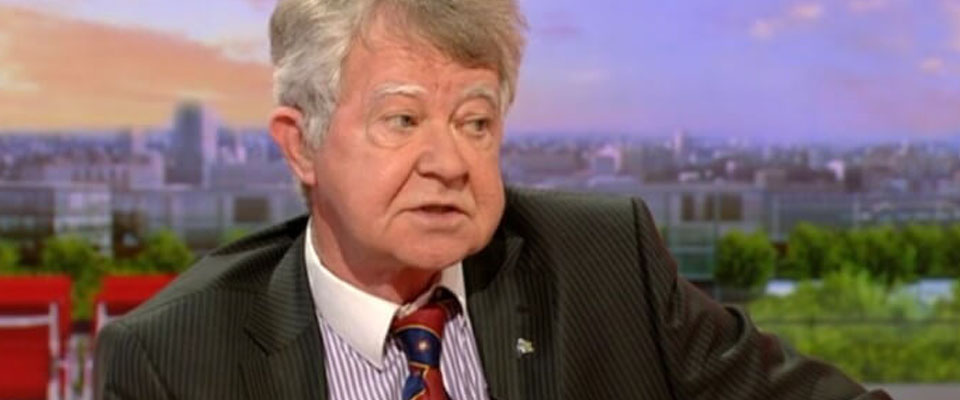 WBro Campbell Wallace appears on the BBC News to speak about Organ Donation in the UK