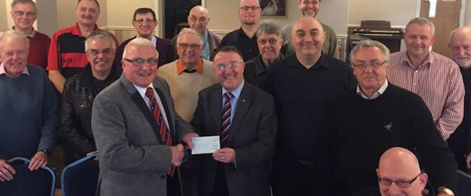 Charity Stewards donation to the ELMC