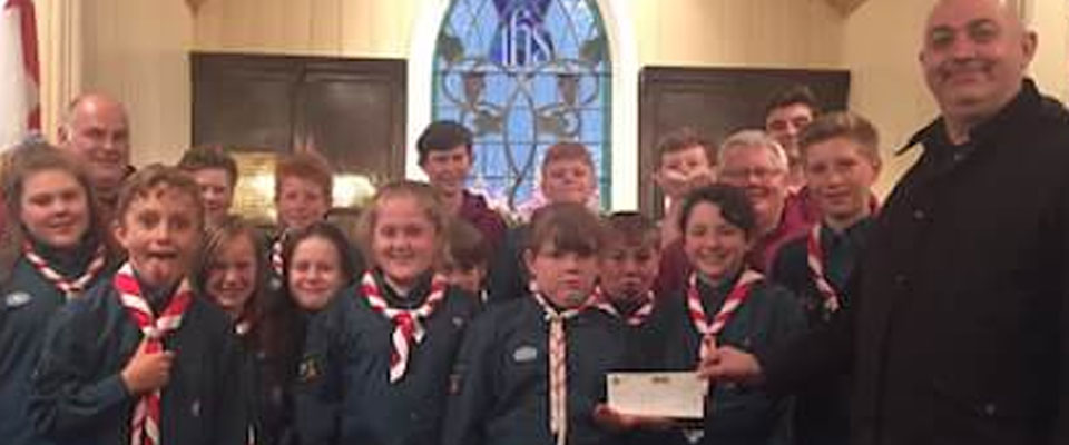 ELMC Grant Making Committee support local Scout Project