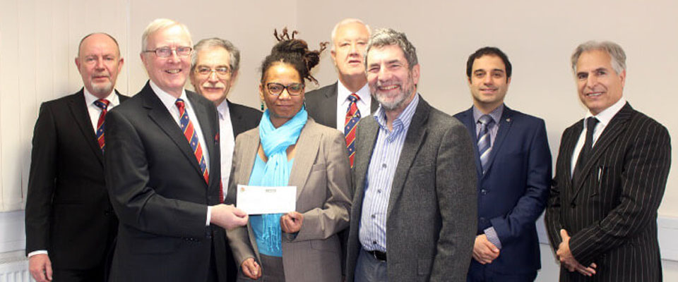 East Lancashire Masonic Charity award a grant to Outreach