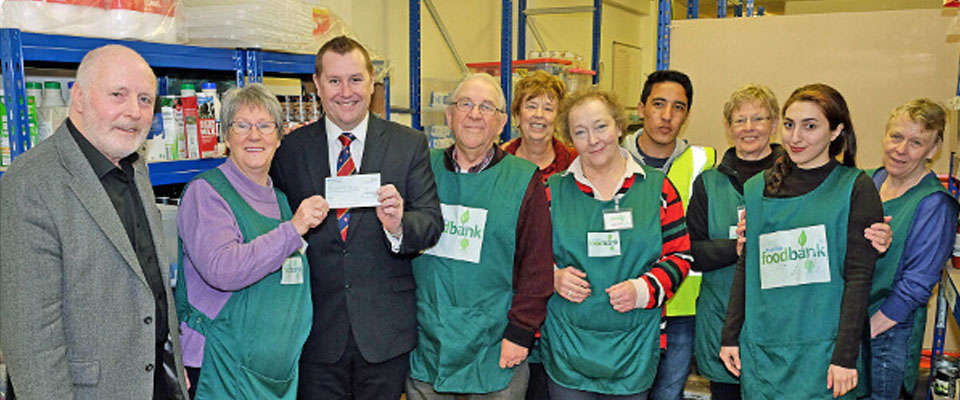 Rochdale Masonic Social Committee - Foodbank Appeal