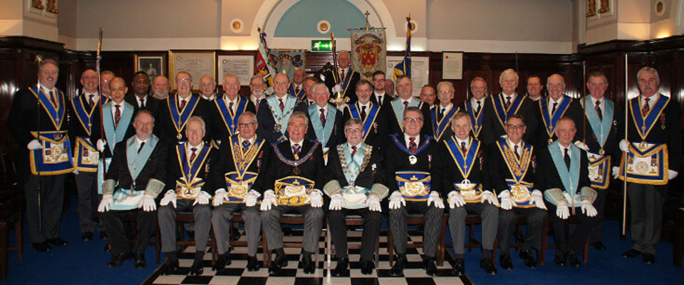 The PGM, Sir David Trippier, Visits Goulburn Menturia Lodge No 3478