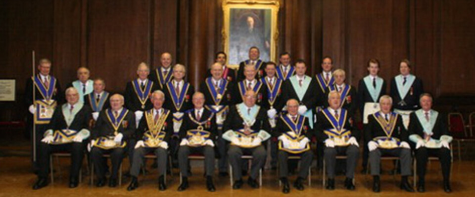 Two 50th Celebrations at Britannia Lodge 3005