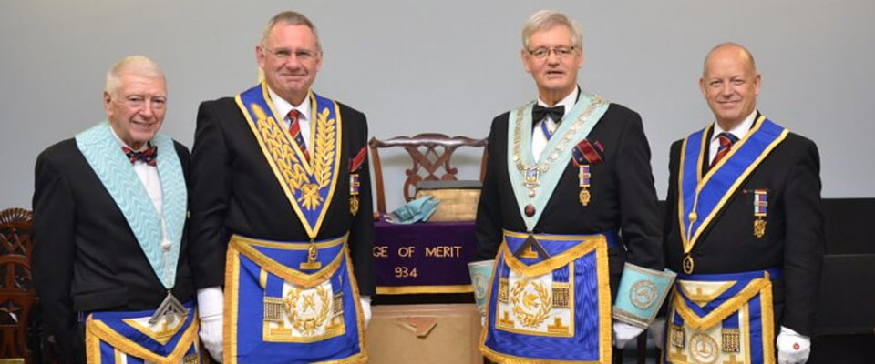 Installation at the Lodge of Merit 934