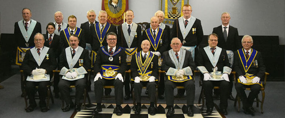 WBro Jack Huddart's 50th Celebration Cromwell with Papyrean Lodge No. 5771