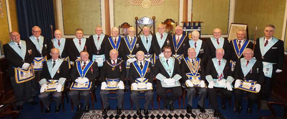 Lodge of Harmony No 298 - Personal 50th Celebration of WBro Tom Rawnsley
