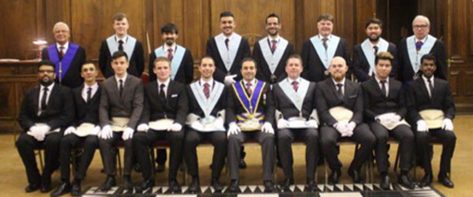 Seven-way Initiation at Old Mancunians with Mount Sinai Lodge 3140