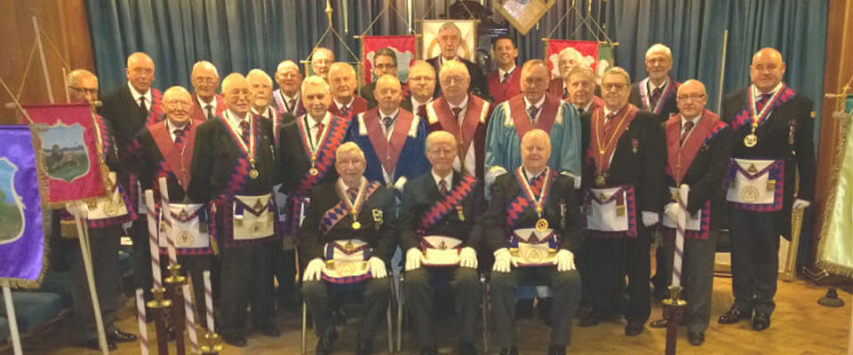 A memorable night at Chapter of Beauty No 344  at Radcliffe Masonic Hall