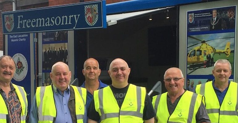 Oswaldtwistle Mills Pound Day Volunteers for Child Action NW