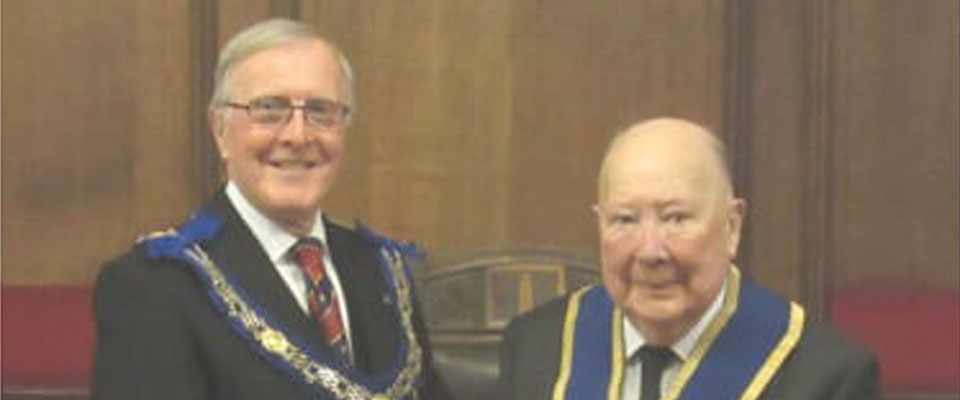 Personal 50th of WBro George Etherington Parker PProvDepGSuptWks