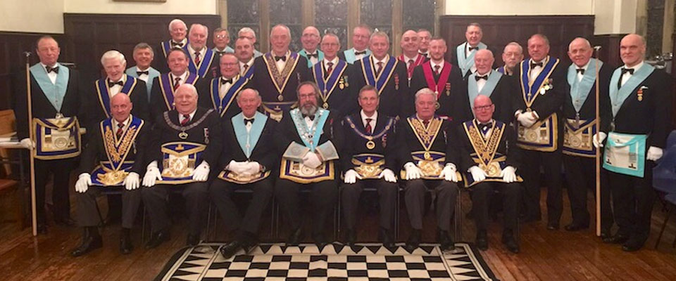 Personal 50th of WBro Trevor Procter PProvSGW