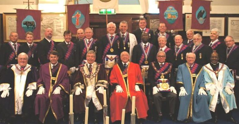 Rectitude Chapter No 5197 Host a Joint Convocation