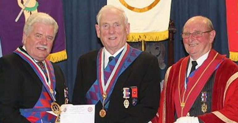 EComp W Albert Young, PProvGSN,  Red Rose of Lancaster Chapter No 1504
