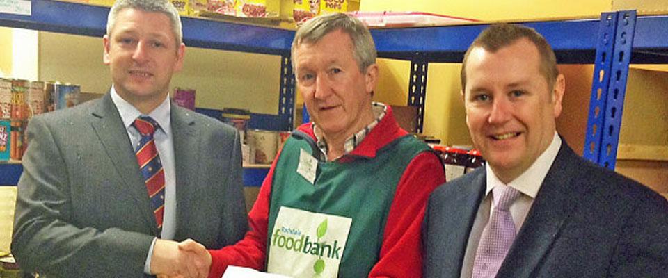 Rochdale Masonic Social Committee Foodbank Appeal