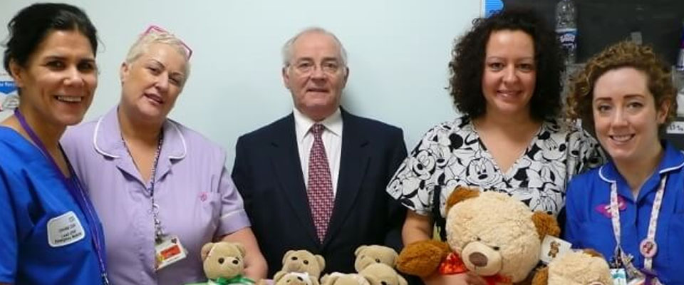 Salford Masons support the TLC Teddy Appeal
