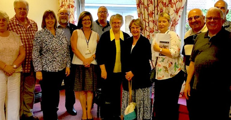 East Ribble Visit to Hewlett Court