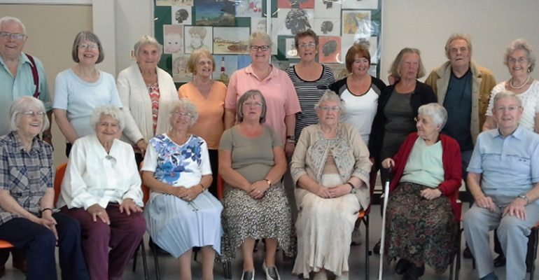 The Salford Ladies Committee supports Salford Carers (and a few others as well)