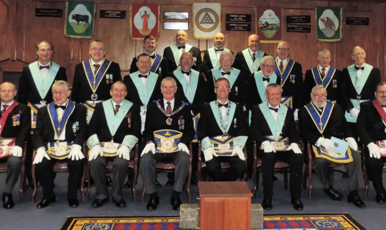 Rose of Lancashire 9174 held their Installation meeting on the 25 Nov 2016.