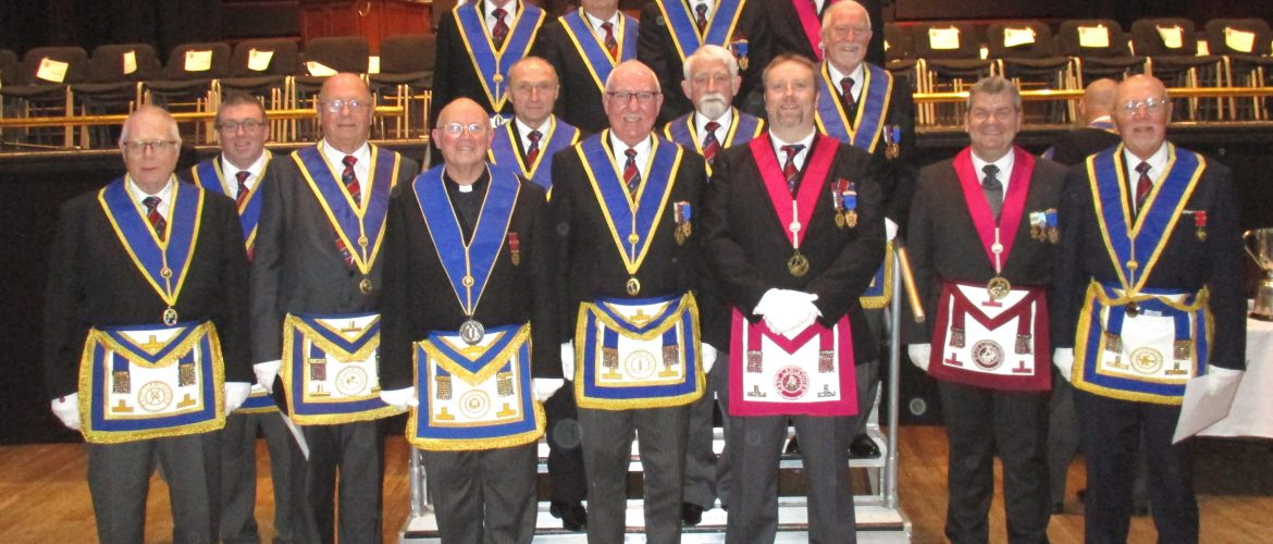 Oldham District Attends Provincial Grand Lodge
