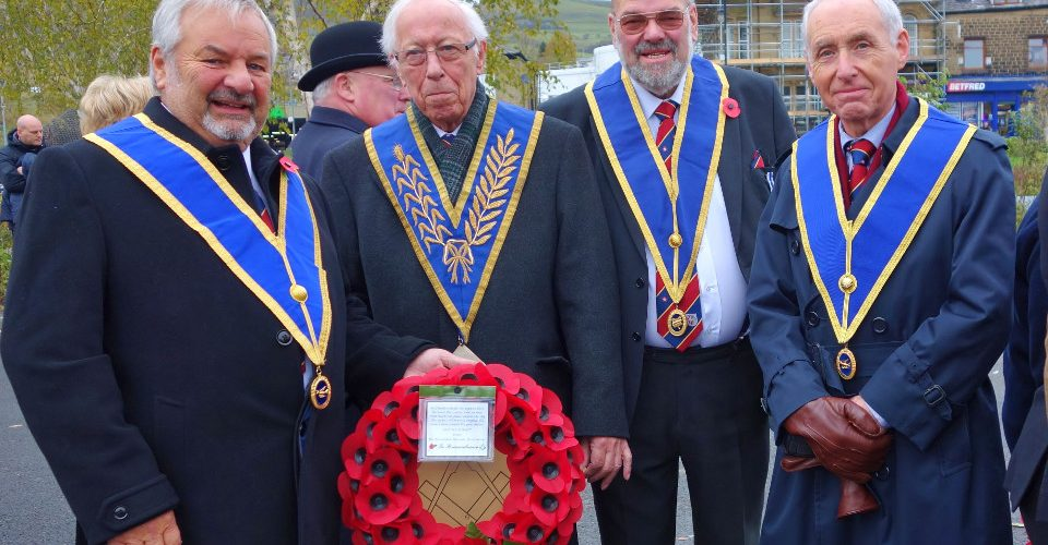 Rawtenstall Masons Remember