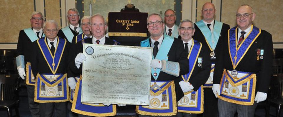 The Closure of Charity Lodge No.3342