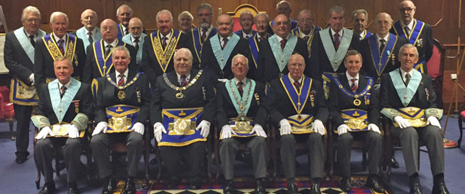 60 Years in Freemasonry for Phillip