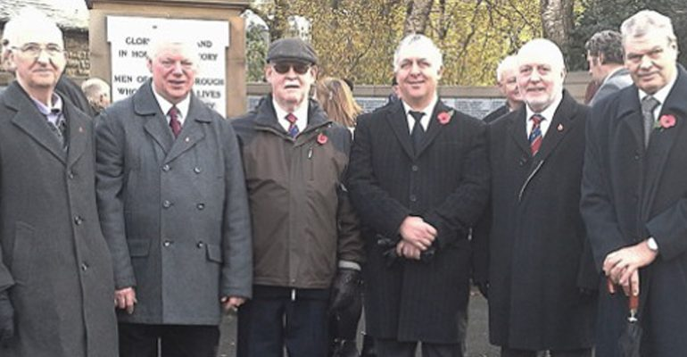 Remembrance Sunday Rochdale / Littleborough Cenotaph