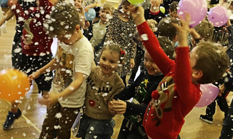 Children's Christmas Party at Rochdale