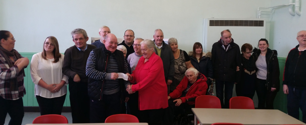Burnley and Pendle Freemasons donation to the Pyramid Self Help Group