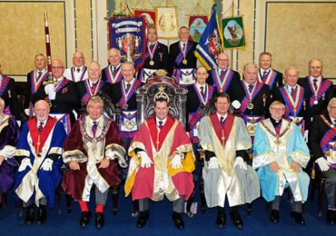Joint Convocation Hosted at Tudor Chapter 277
