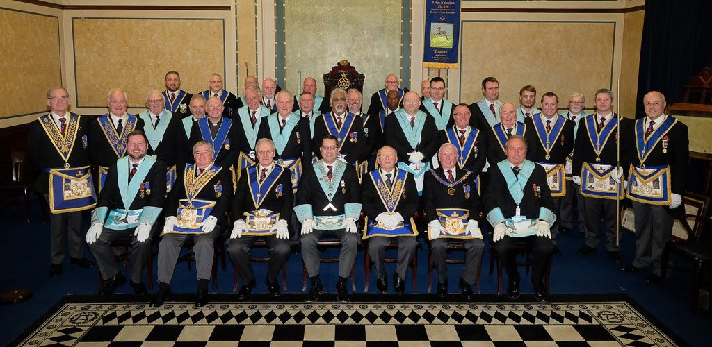 WBro Barry Birch  Celebrating 50 Years in Freemasonry
