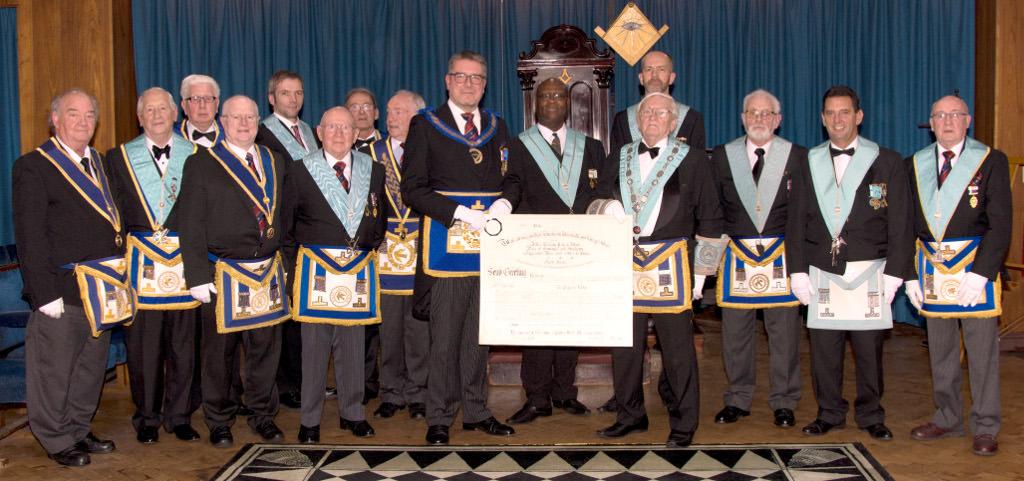 Final Meeting of Progress Lodge