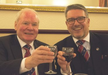 Egerton Lodge Celebrates with WBro David H Swinnerton
