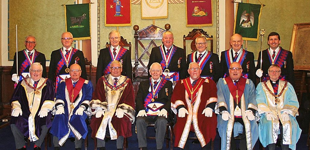 Hope Chapter No 54 EComp Bill Gow's 50th Celebration 6th February 2017