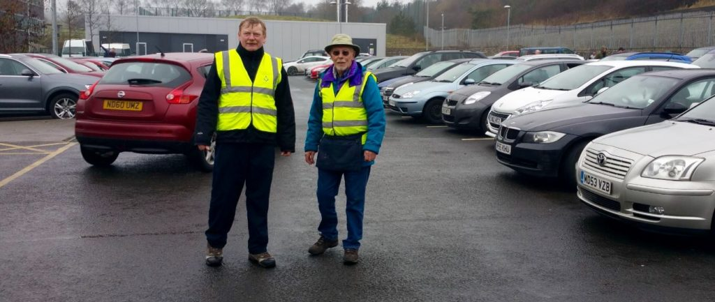 Marshalling Blackburn Rovers for E.Lancs Hospice