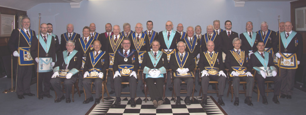 Knowsley Celebrate the 50th Anniversary of WBro Robert W Thompson PProvSGW