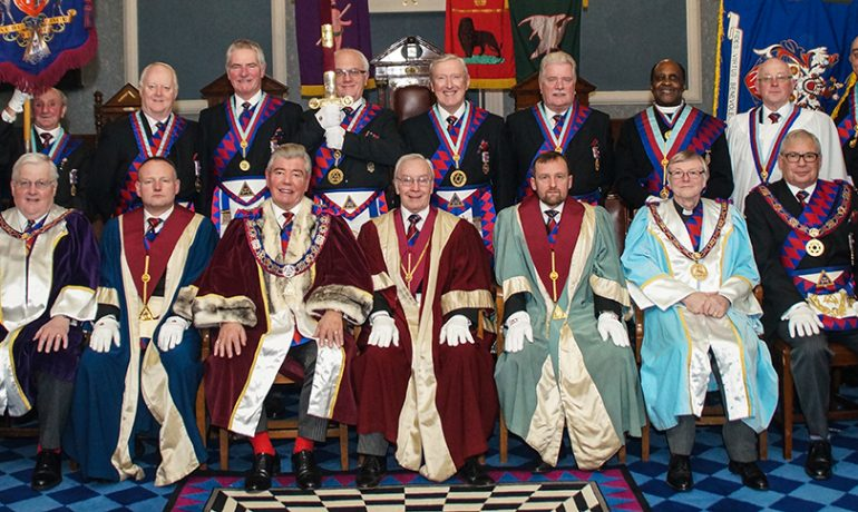 Joint Convocation hosted by the Chapter of Union No 268