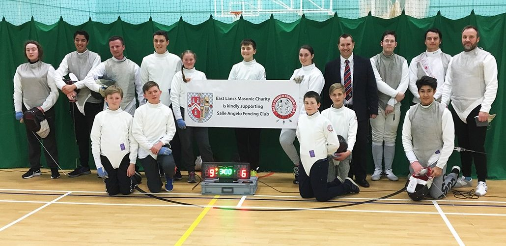 ELMC Grant to Salle Angelo Fencing Club