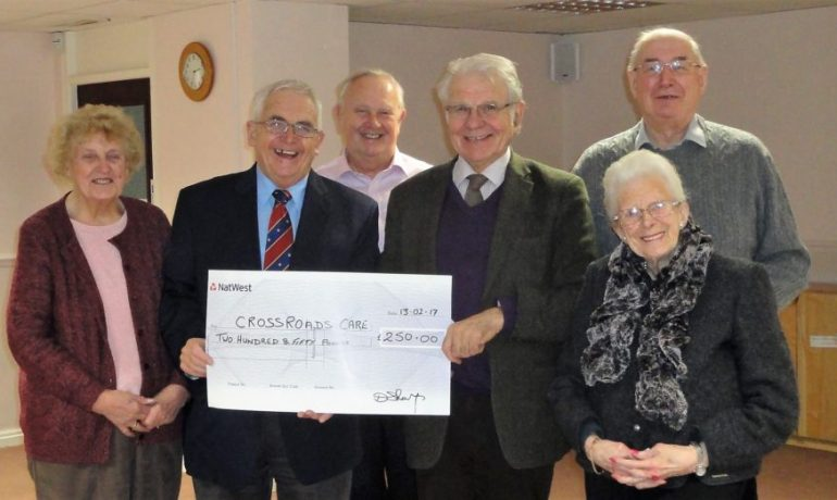 Clitheroe and District Fellowship make numerous donations