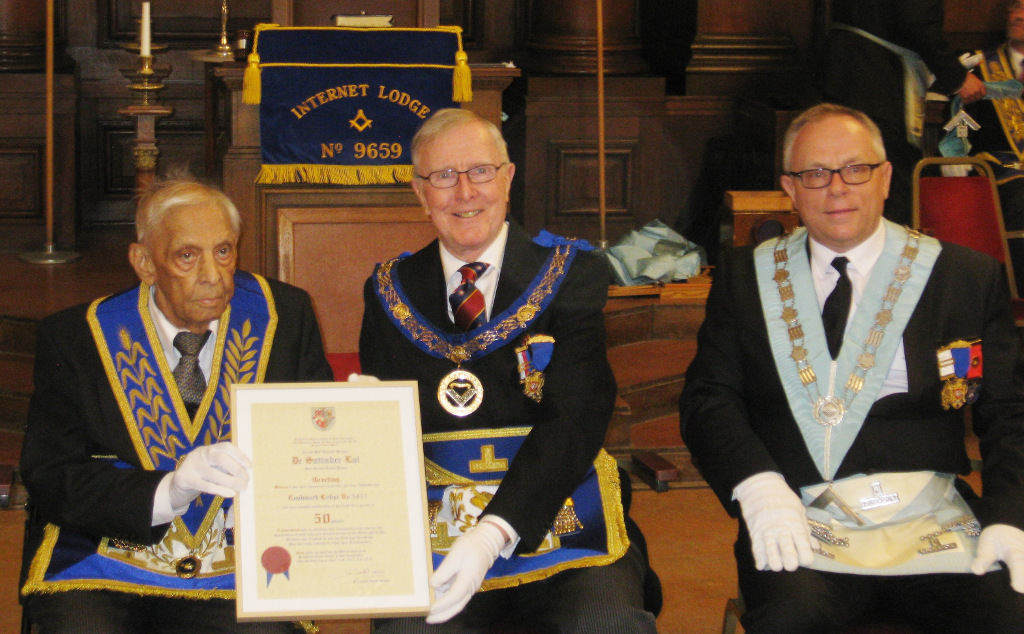 Special Meeting at Internet Lodge 9659